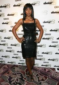 Kelly Rowland at the Choice FM 18th anniversary party.