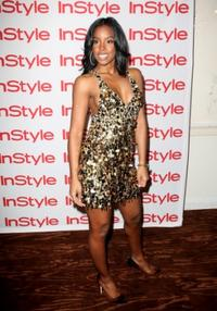 Kelly Rowland at the In Style Best Beauty Buys 2008.