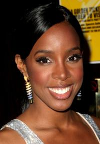 Kelly Rowland at the after party of Sony Brit Awards 2008.