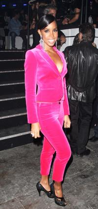 Kelly Rowland at the MTV Europe Music Awards 2007.
