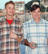 Elias McConnell and director Gus Van Sant at the photocall of