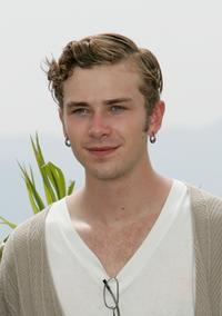 Elias McConnell at the photocall promoting