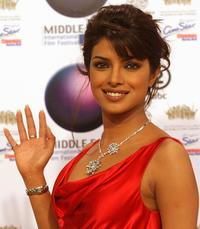 Priyanka Chopra at the opening ceremony of Middle East International Film Festival (MIFF).