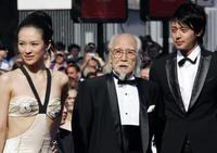 Ziyi Zhang, Seijun Suzuki and Jo Odagiri at the screening of