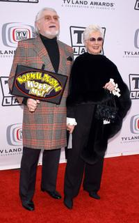 Shirley Jones and Marty Ingels at the 2005 TV Land Awards.