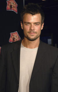 Josh Duhamel at the 3rd annual 'A Night with the Friends of El Faro' benefit and concert in Los Angeles, California.