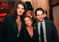 Russell Brand, Shauna Robertson and Paul Rudd at the after party of the premiere of