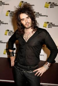 Russell Brand at the Secret Policemans Ball.