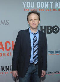 David Wilson Barnes at the New York premiere of