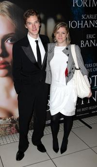 Benedict Cumberbatch and Guest at the premiere of