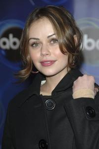 Alexis Dziena at the ABC Winter Press Tour All Star Party.