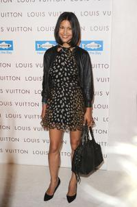 Julia Jones at the Opening of Louis Vuitton Santa Monica To Benefit Heal The Bay.