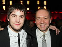 Actors Jim Sturgess and Kevin Spacey at the after party of the Las Vegas premiere of