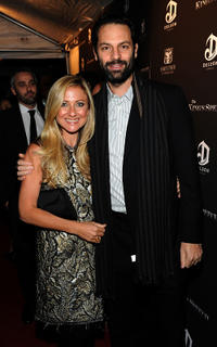Caroline Sherman and Emile Sherman at the premiere of