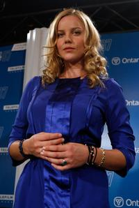 Abbie Cornish at the press conference of
