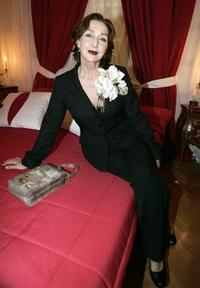 Christine Kaufmann at the launch of the new perfume Delices de Cartier.