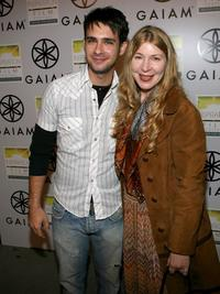 Scott Mechlowicz and Producer Robin Schorr at the premiere of