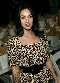 Megan Fox at the Tart Spring 2008 fashion show during the Mercedes Benz Fashion week.