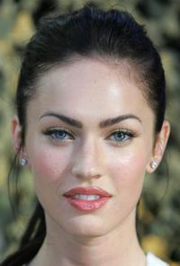 Megan Fox at the press conference of