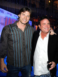 Chris Carmack and Stephen Herek at the California premiere of
