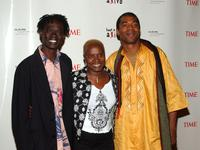 Baaba Maal, Angelique Kidjo and Femi Kuti at the Keep a Child Alive Annual Fundraiser