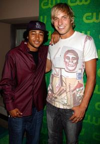 Percy Daggs III and Ryan Hansen at the CW Network Summer TCA Party.