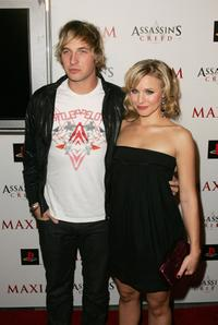 Ryan Hansen and Kristen Bell at the official launch of Ubisoft's
