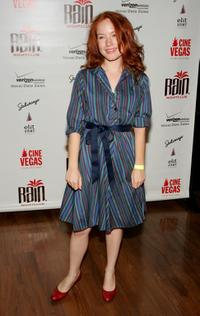 Maria Thayer at the opening night party for the CineVegas Film Festival.