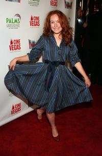 Maria Thayer at the Cinevegas opening night film