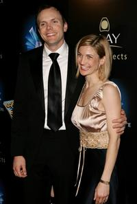 Joel McHale and Sarah at the 32nd Annual People's Choice Awards after party.