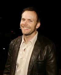 Joel McHale at the premiere of