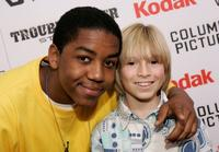 Christopher Massey and Paul Butcher at the California premiere of
