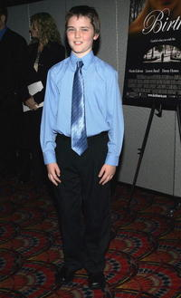 Cameron Bright at the premiere of