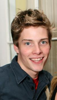 Hunter Parrish at the RBK Style Lounge.