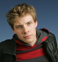Hunter Parrish at the 64th Annual Golden Globe Awards.