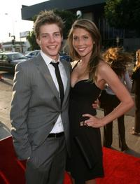 Hunter Parrish and Allison Tyler at the California premiere of