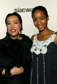 Sue Wong and Faune Chambers at the Sue Wong Spring 2008 fashion show during the Mercedes Benz Fashion Week.