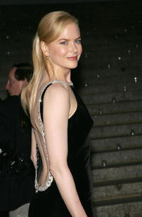 Nicole Kidman at the Vanity Fair party for The Tribeca Film Festival.