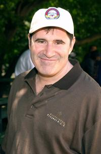 Richard Kind at the Broadway Show League All Star softball game.