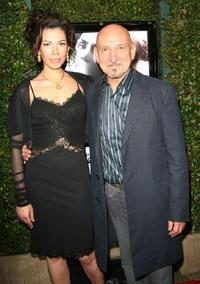 Ben Kingsley and his guest at the Los Angeles premiere of