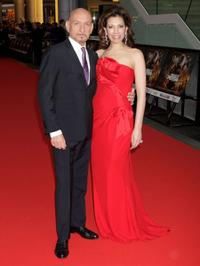 Ben Kingsley and Guest at the World premiere of