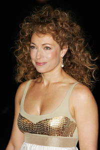 Alex Kingston at the Laurence Olivier Awards at the London Hilton.