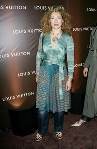 Alex Kingston at the Louis Vuitton