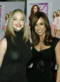 Amanda Seyfried and Lacey Chabert at the private screening of