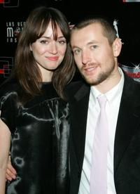 Corbett Tuck and Leigh Whannell at the Las Vegas screening of
