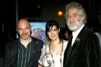 Kevin Kline, Michael Cerveris and Phoebe Cates at the post-performance party of the opening night of King Lear.