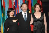 Kevin Kline, Phoebe Cates and Sigourney Weaver at the premiere of