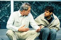 Kevin Kline and Cesar Ramos in