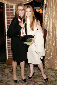 Jill Clayburgh and Lily Rabe at the after party of the Opening night of Tom Stoppards