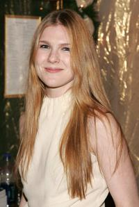 Lily Rabe at the after party of the Opening night of Tom Stoppards